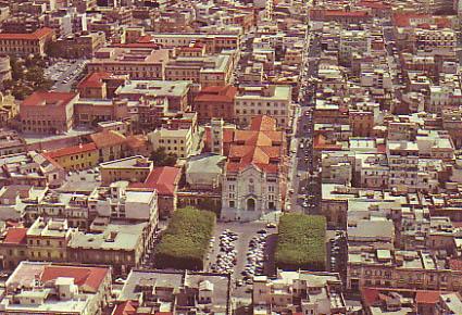 Veduta aerea di Reggio Calabria