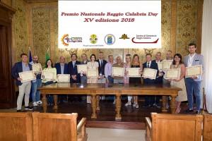 Foto Gruppo Premiati Reggio Day 2018 XV