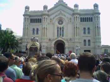 Arrivo cattedrale (Foto di Barbara D'agostino)